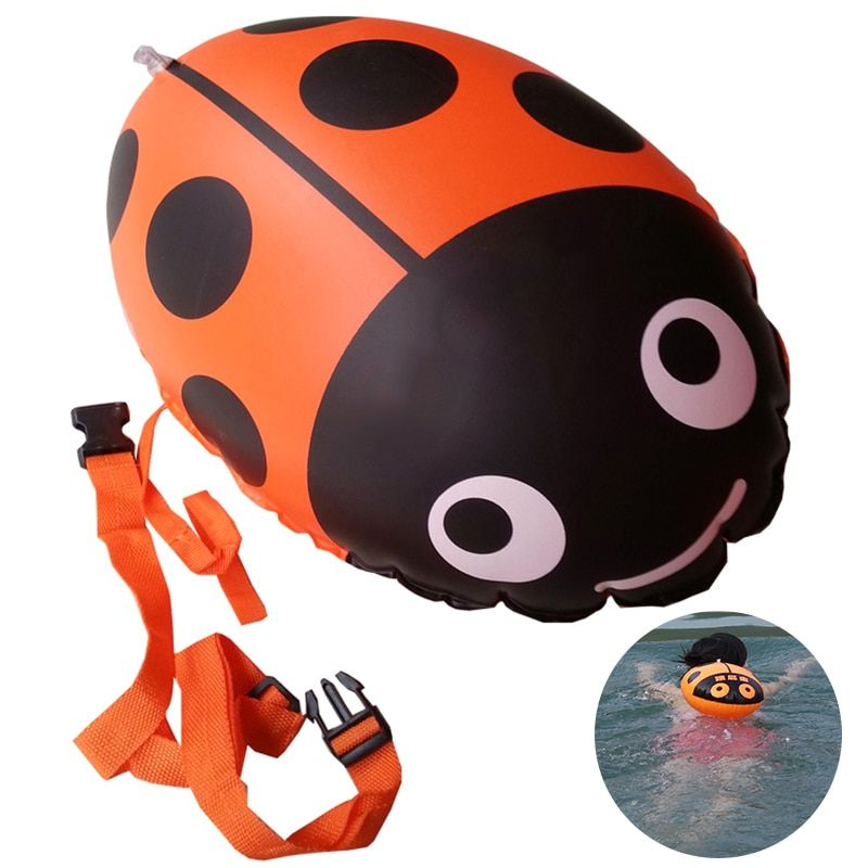 Swimming Security Inflatable Float Inflated Buoy Flotation PVC Ball Airbag For Open Water Sea Pool Swim Sports Device