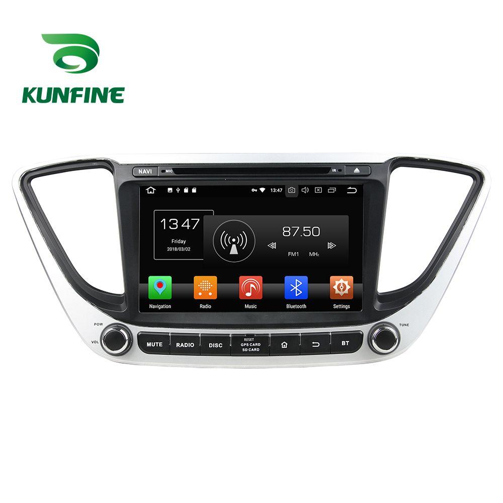 4 gb RAM Octa Core Android 8.0 Auto DVD GPS Navigation Multimedia Player Auto Stereo für Hyundai Verna 2017 Steuergerät Radio