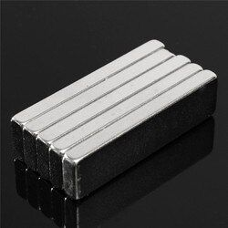 10pcs 40 x10 x 4mm N52 Block Magnet Rare Earth Neodymium Permanent Magnets Rectangle Bar Fridge 40mm x10mm x 4mm Magnet