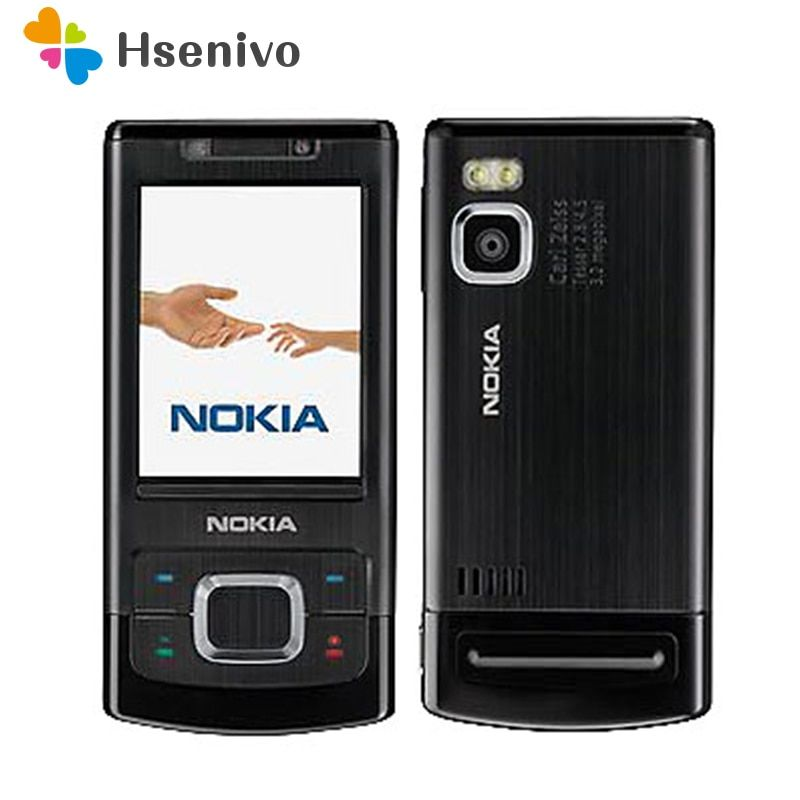 Unlocked 6500S Original Nokia 6500 Single Core Slide Cell Phone 3G Bluetooth Mp3 Player 3.15MP Mobile Phone refurbished