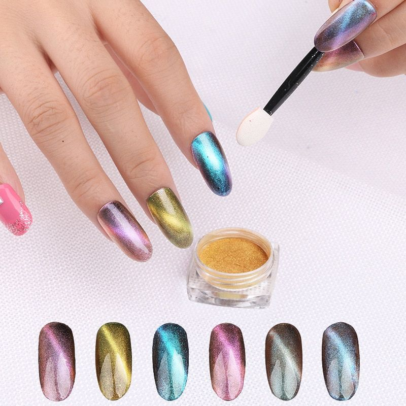2017 fashion shinning Good quality Nail Glitter Powder arcylic powder H003