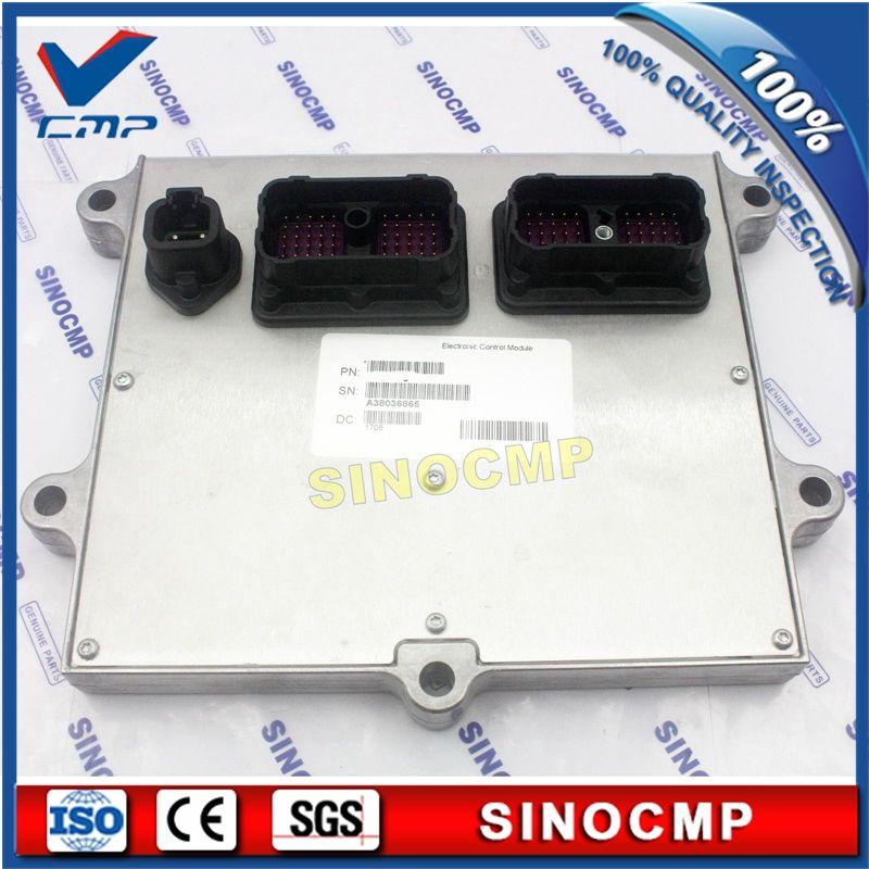 ECU PC220-8 PC240-8 6D107 Motor Kraftstoffeinspritzung Steuergerät 600-467-1200 für Komatsu Bagger, 1 Jahr garantie