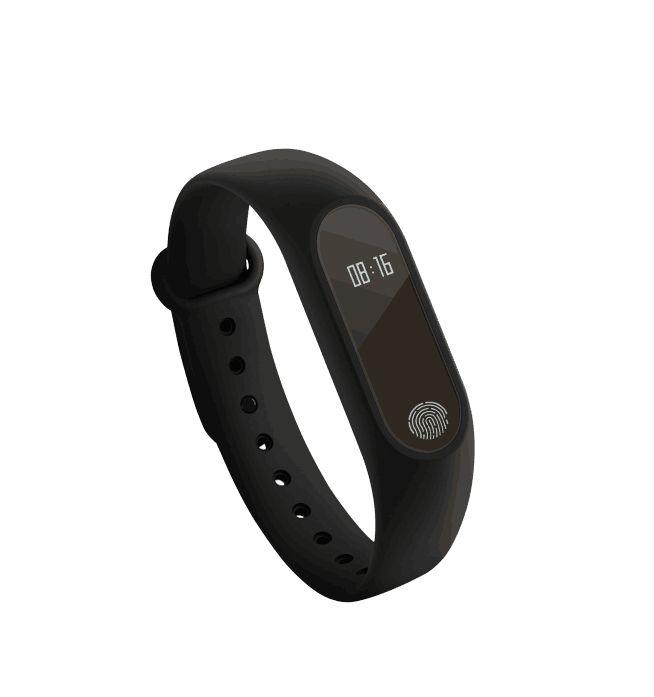 Für Android IOS Smartphone Neueste M2 Smart Armband Armband 0,42 Zoll Oled-display IP67 Wasserdicht Unterstützung Pulsmesser