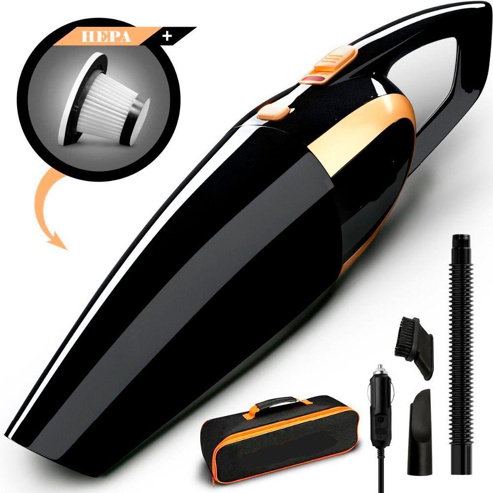 4800 pa nouveau Design 120 W Portable voiture aspirateur humide et sec double usage Auto allume-cigare filtre Hepa 12 V