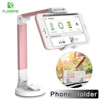 Floveme Универсальный автомобильный держатель телефона для айфон X 8 7 6 6S 5 SE мобильного держатель телефона поддержка для рабочего стола ленивый...