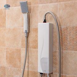 220 V 3000 W au plug calentador de agua eléctrico baño interior suministros hogar práctico doble Conchas calefacción