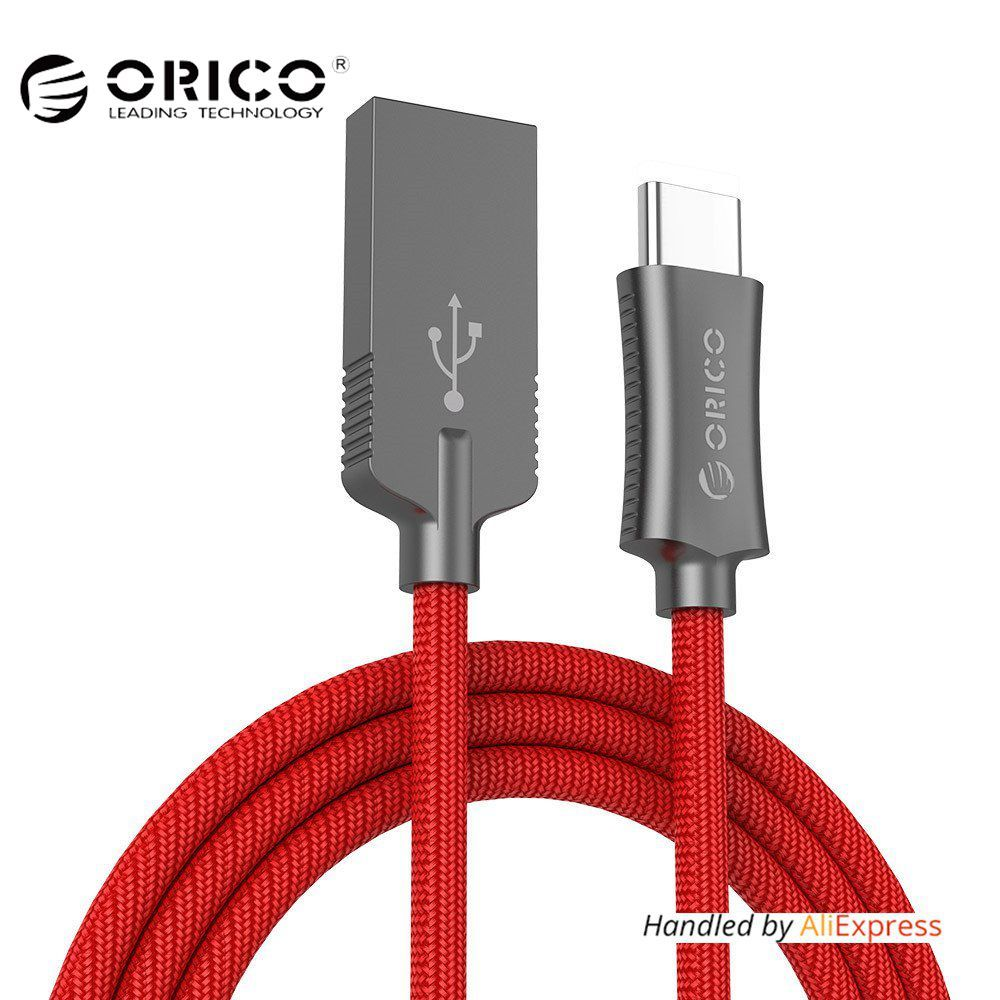 ORICO Zinc Alloy USB Type A to C Cable Hi-speed USB Sync & Charging Cable for Huawei P9 Macbook LG G5 Xiaomi Mi 5 HTC 10 More
