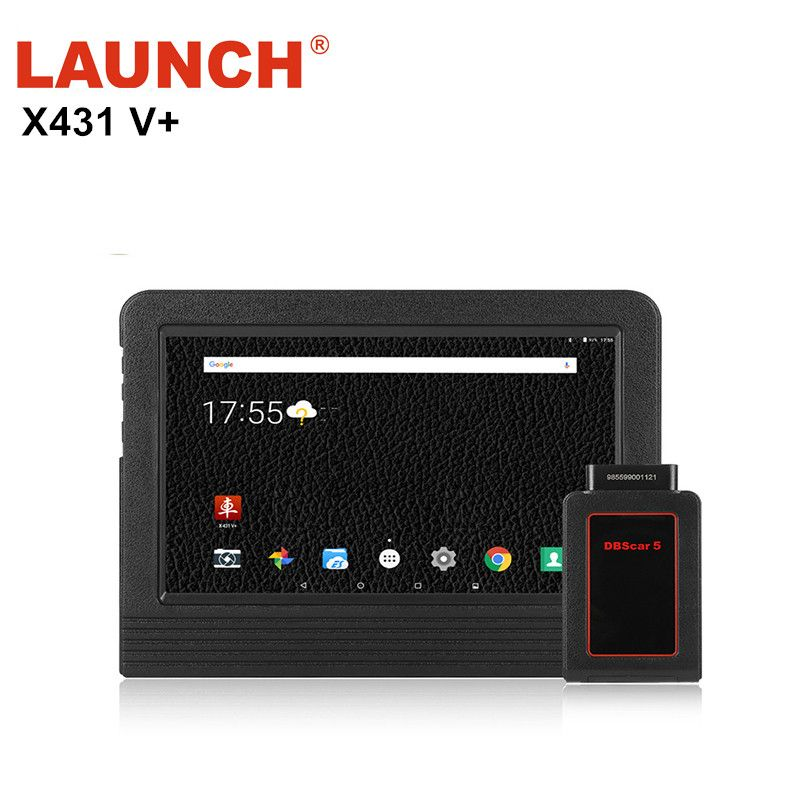 New version Original LAUNCH X431 V+ Global Version Full System Car Tool Auto Scan Tool Car Diagnostic Tool Free Online Update