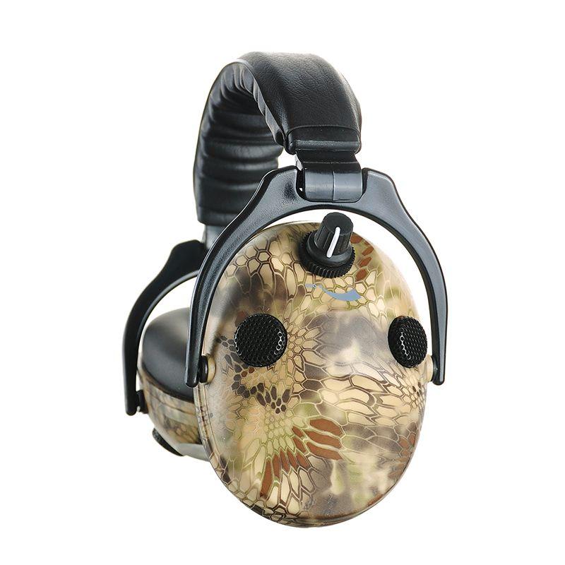 Elektronische Schießen Gehörschutz Ohrenschützer Jagd Gehörschutz Camouflage Tactical Headset Gehör Schutz Kopfhörer für Jagd