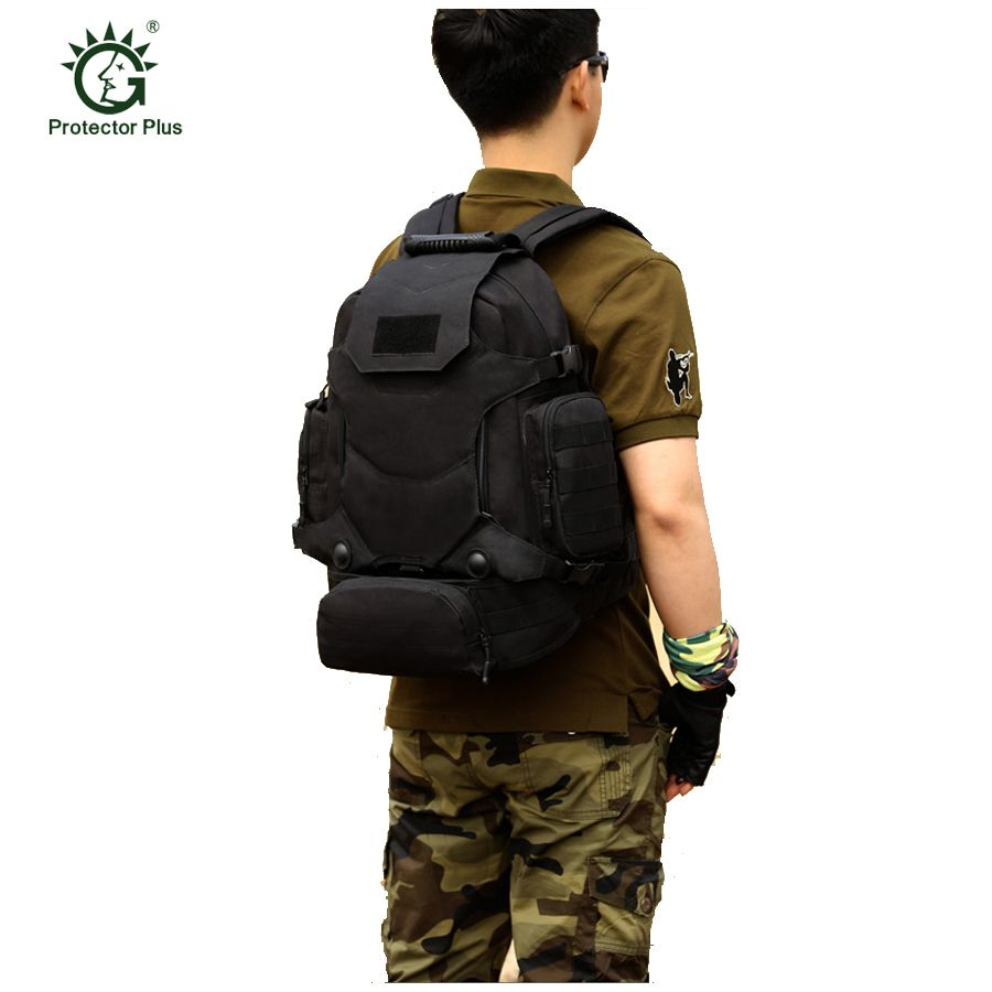 40l Открытый тактический рюкзак мешок Кемпинг Водонепроницаемый Альпинизм Пеший Туризм Рюкзаки Молл спортивная сумка восхождение рюкзак