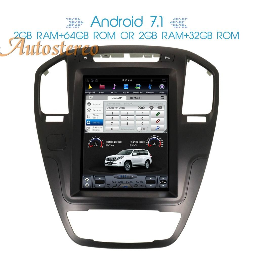 Reine Android 7.1 Auto GPS Navigation auto Für Opel Insignia Vauxhall Holden CD300 CD400 Stereo Steuergerät Sat Nav multimedia keine DVD