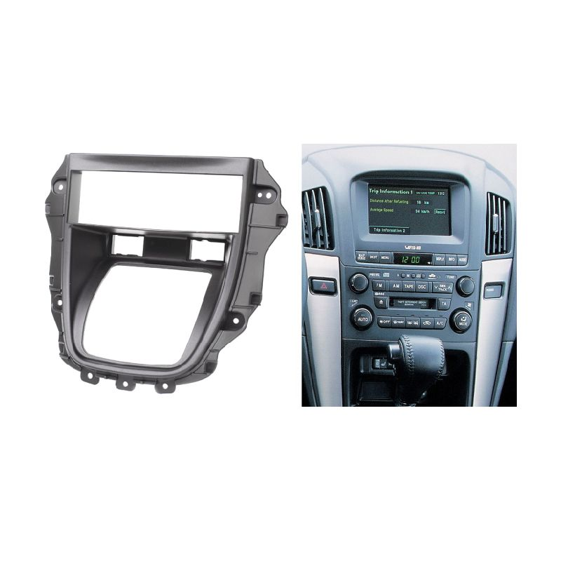 For LEXUS RX-300 RX300 One Din Fascia Radio CD DVD Stereo Audio Panel Dash Mount Install Kit