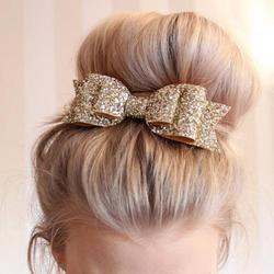Retal Cheveux Clip Femmes Bébé Fille 12 CM Big Glitter Cheveux arc Enfants Épingles À Cheveux Pince à Cheveux Pour Enfants Accessoires Cheveux Enfant chapeaux