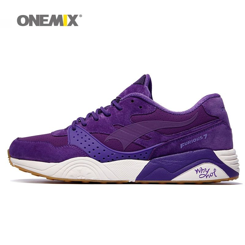 Onemix men's running shoes classic vintage sneakers breathable walking outdoor sports shoes for men running shoes for women shoe