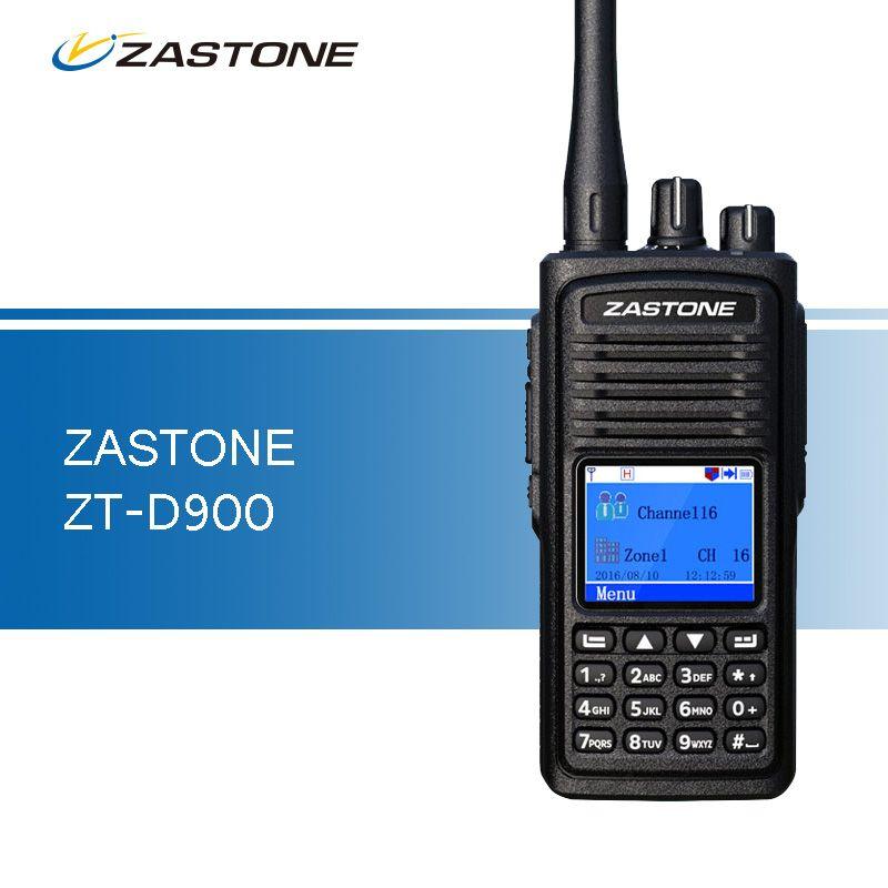 Zastone D900 Walkie Talkie UHF 400-480MHz DMR Digital 2000mAh Ham CB Radio 1000 Channels Two Way Radio Portable Walkie Talkie