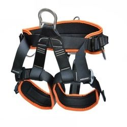 1500KG Outdoor safety belt mountaineering rock climbing cable harness rope lifting sling chain
