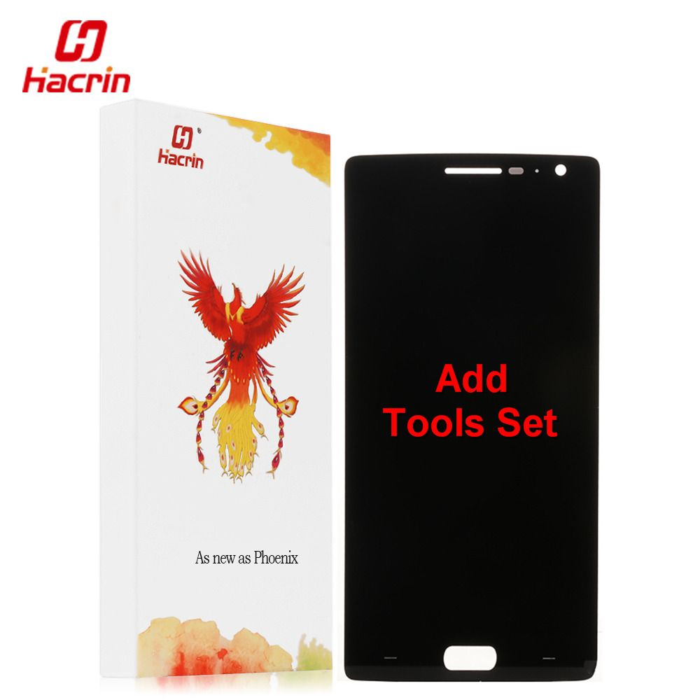 Oneplus Deux Écran lcd + Écran Tactile 100% Bonne Digitizer Assemblée Remplacement Accessoires Pour Un Plus 2 Mobile Téléphone