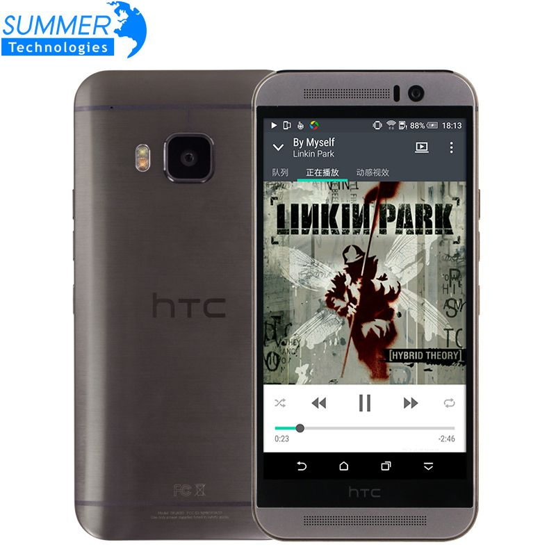 Original Unlocked HTC One M9 Mobile Phone Octa Core Marshmallow Snapdragon 810 4G LTE 3G RAM 32GB ROM 5.0' Inch 20MP Smartphone