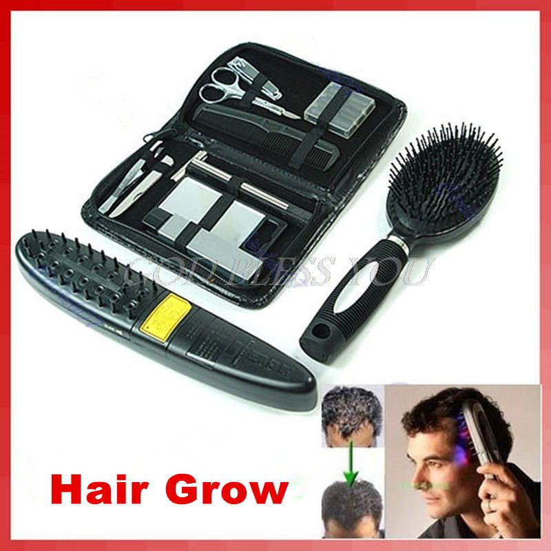Laser Treatment Power Grow Comb Kit Stop Hair <font><b>Loss</b></font> Hot Regrow Therapy New Sale