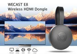 WECAST E8 inalámbrico HDMI 1080 p Dongle Media TV Stick pantalla receptor Chromecast RK3036 soporte Wifi Miracast Airplay DLNA