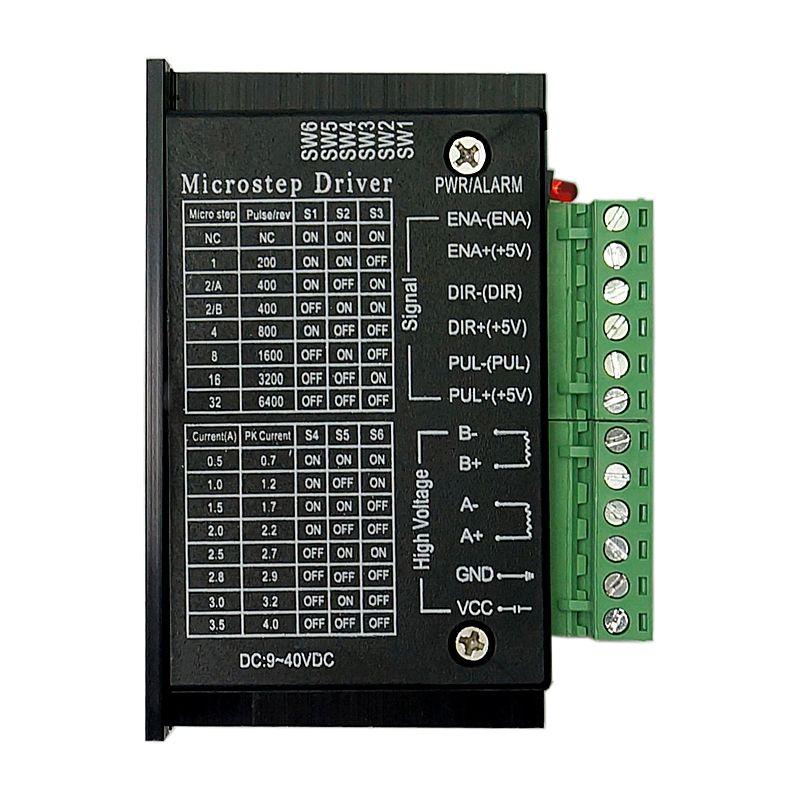 42/57/86 TB6600 routeur à bois moteur pas à pas pilote 32 segments version améliorée 4.0A 42VDC kits de fraisage de CNC