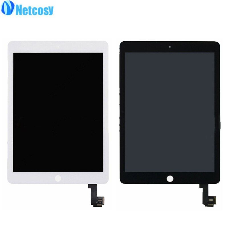 Netcosy For iPad Air 2 A1567 A1566 LCD Screen High quality LCD display+Touch screen assembly Replacement parts for ipad 6/Air 2