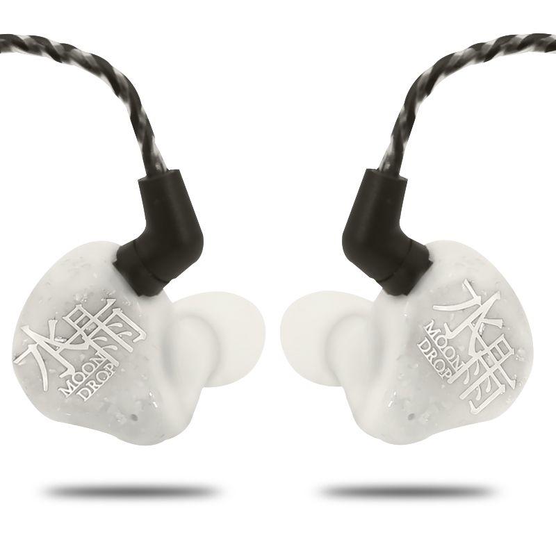 AK Moondrop Segen 1DD + 4BA 1 Dynamische + 4 Balance Anker Hybrid HiFi Monitor In-ohr Kopfhörer DJ Sport Ohrhörer