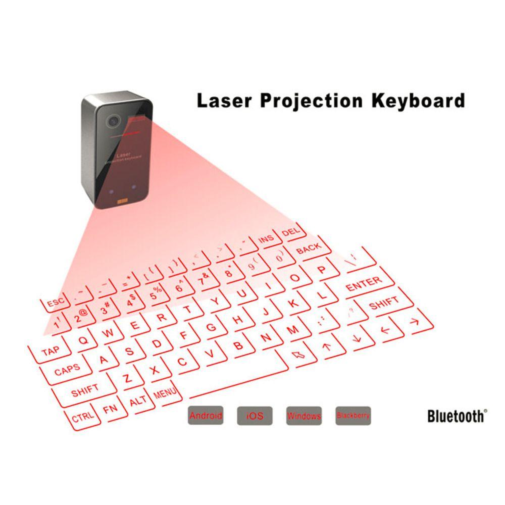 Bluetooth Wireless Keyboard Mini Portable Laser Virtual Projection Keyboard razer keyboard For Tablet PC In Stock!!