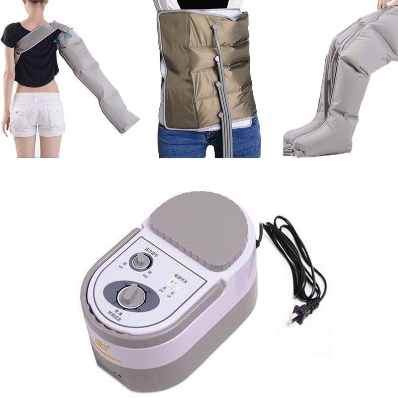 New Air Pressure Massaging Machine Whole Body Massager Release Edema Varicosity Myophagism Body With Arm and Leg Sleeve waist