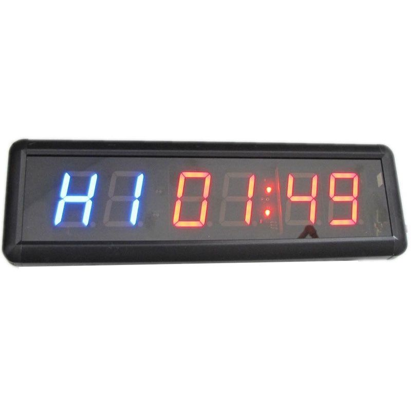 1.8 inch Remote Led Display Countdown Clock Count Up Countdown Timer For researched and Swim Use Stopwatch Gym / Boxing gym