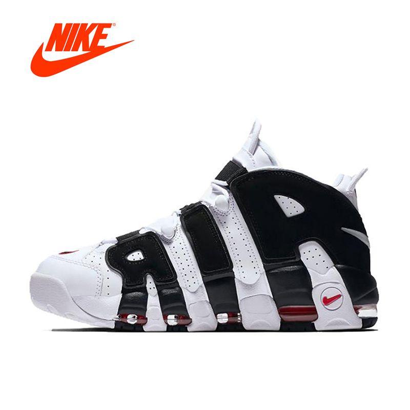 Neue Ankunft Authentic Nike Air Mehr Uptempo männer Atmungs Basketball Schuhe Sport Turnschuhe