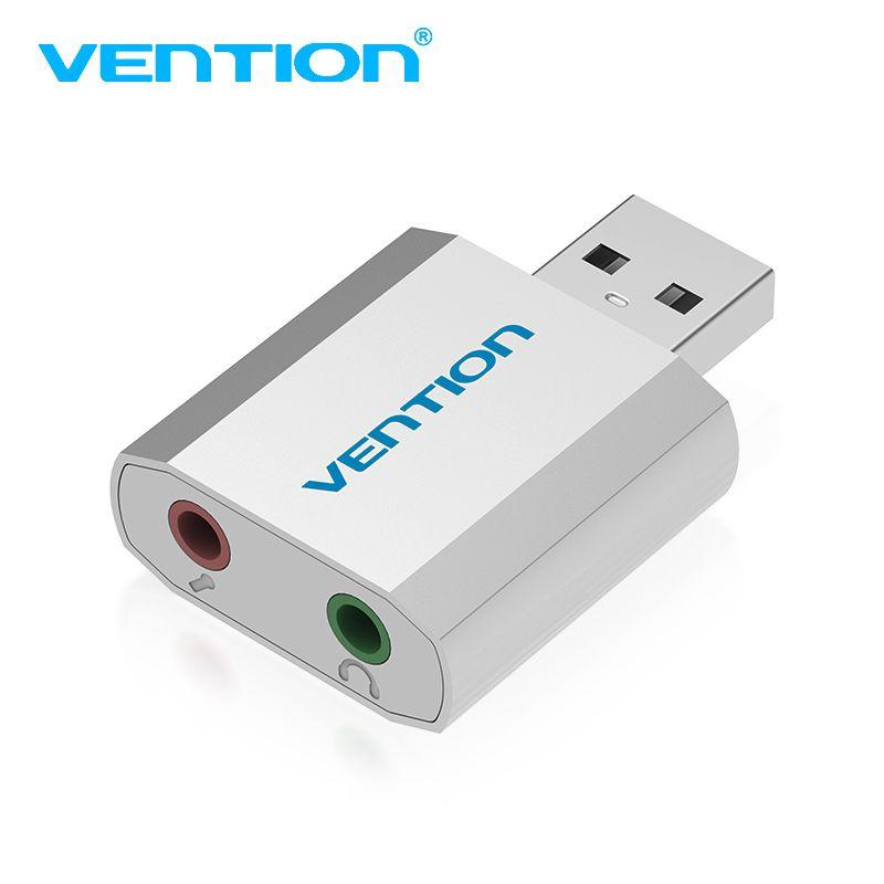 Convention Mini USB Carte Son Audio Carte USB À 3.5mm Femal externe carte son Avec Micro casque Adaptateur Pour Haut-Parleur D'ordinateur Portable PC PS4