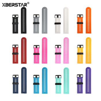 Replacement Silicone Watchband Strap for Garmin Fenix 3 / Fenix 3 HR GPS Watch Band Strap With Tools for Fenix 5X GPS Watch