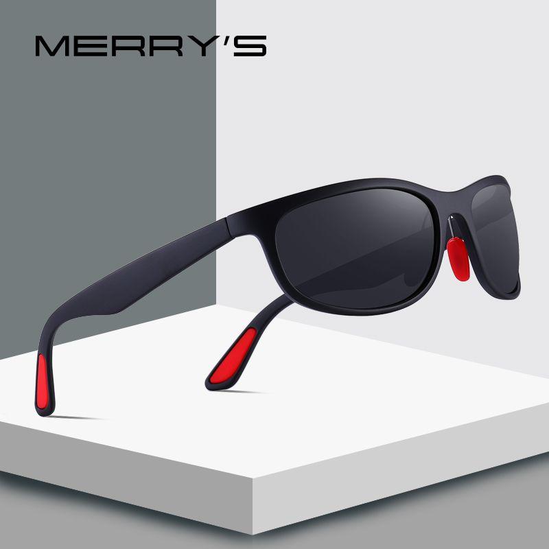 MERRYS DESIGN Männer Polarisierte Sonnenbrille Für Fahr Outdoor Sport Goggle Gläser Ultra-light Serie UV400 Schutz S8136