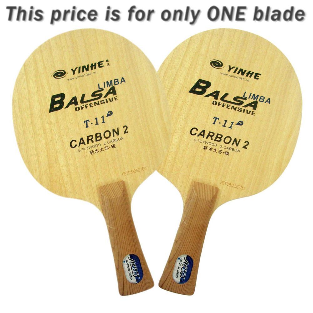 Original Yinhe milchstraße Galaxy T-11 + T 11 + T11 + tischtennis pingpong klinge