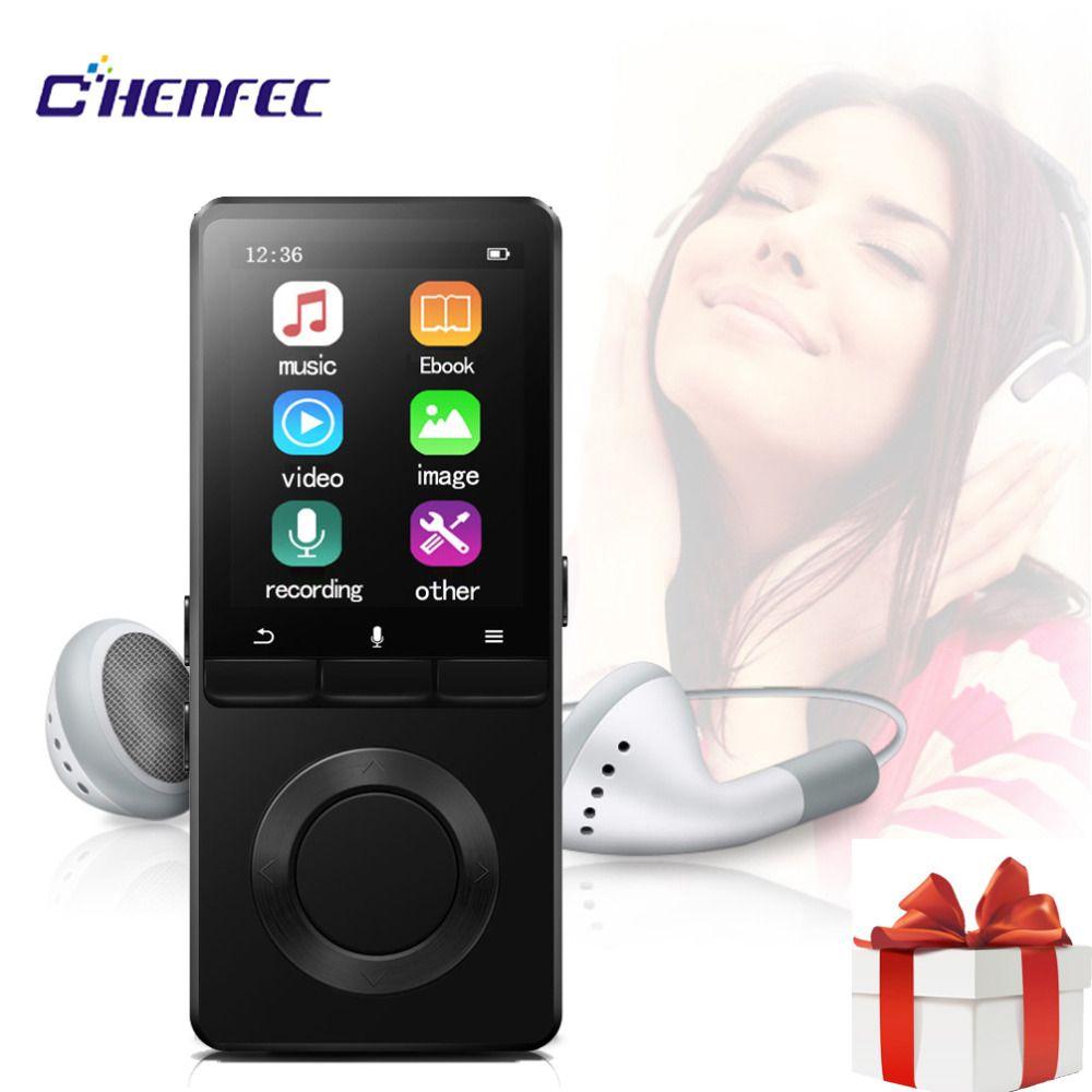 Tragbare CHENFEC C2 Mp4 Player Mit Lautsprecher Sport MP4 Player 8 gb mit video-Player FM-Radio APE MP4 Musik player