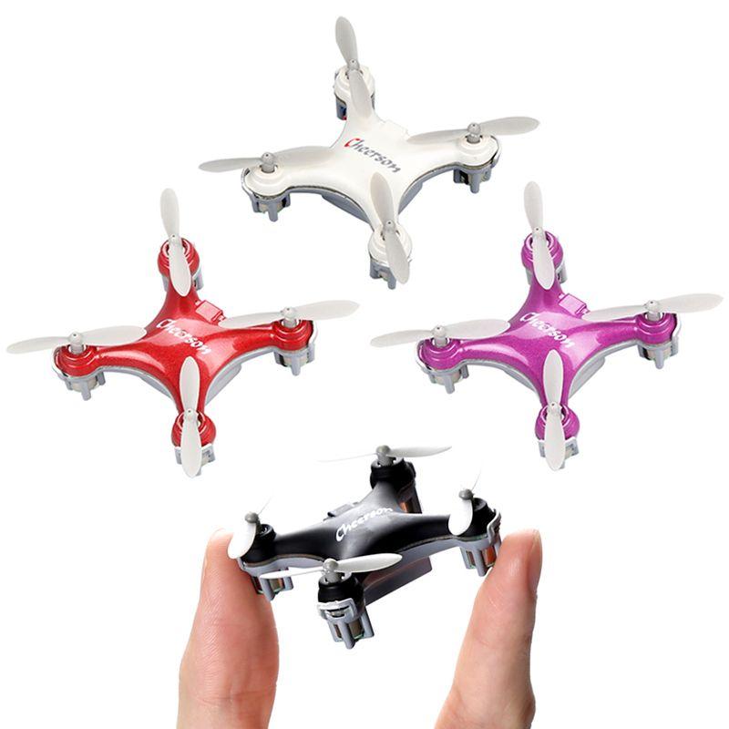 Cheerson CX-10SE Mini Dron Quad Copter poche Drone télécommande enfant jouet 4CH 3D Flips RC NaNo quadrirotor hélicoptère RTF VS H20
