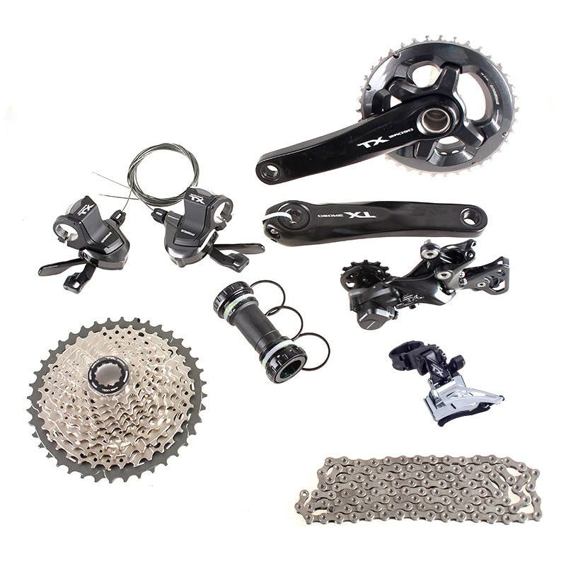 SHIMANO DEORE XT M8000 2x11 11S 22S Speed 36/26T 38/28T 170mm 11-42T MTB Mountain Bike Groupset Shift Trigger Derailleurs part