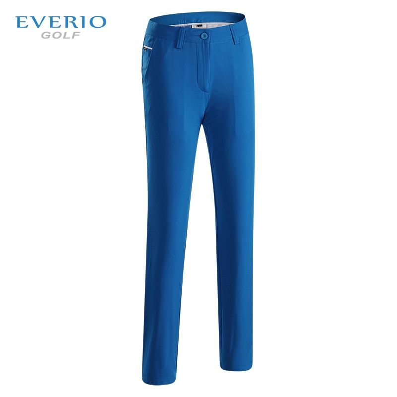 EVERIO 2017 women golf pants sports fabric summer elastic Breathable Quick drying Slim golf trousers lady golf clothing