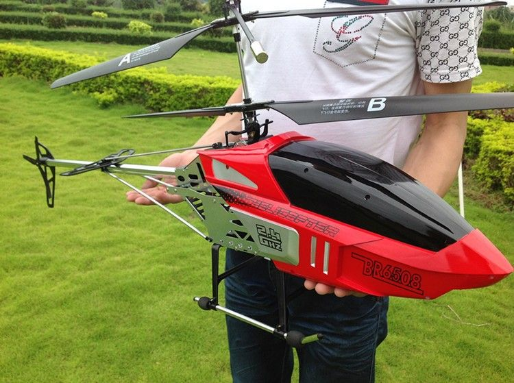 Hot Sale super Big 130CM 2.4G 3.5CH rc Profession Quadcopter drone Double Blade RC Helicopter With Camera Best Gift Toy