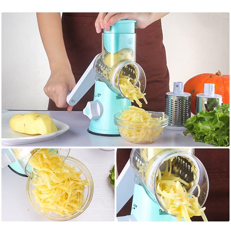 Lekoch coupe-légumes Gadgets de cuisine trancheuse de fruits râpe déchiqueteuse manuel multifonctionnel accessoires de cuisine pomme de terre fromage