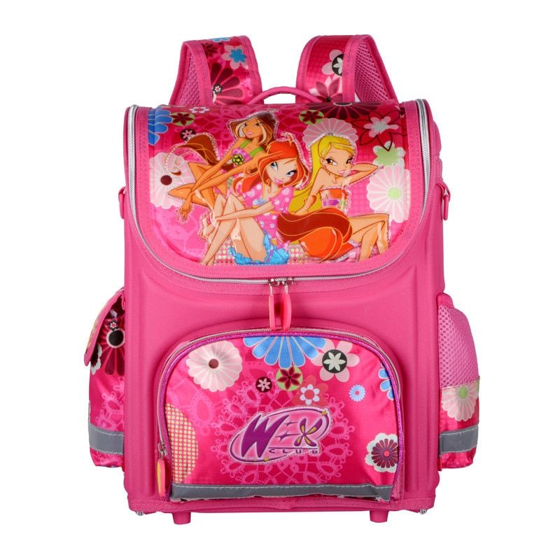 Orthopedic Children School Bags For Girls New Kids Backpack Monster High WINX Book Bag Princess Schoolbags Mochila Escolar