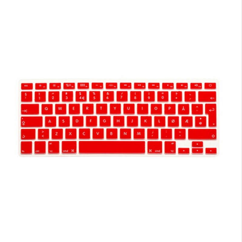 (10pcs)Norwegian UK/EU Silicone Keyboard Cover Skin protector film for apple MacBook Pro air Retina 13 15 17 EU layout