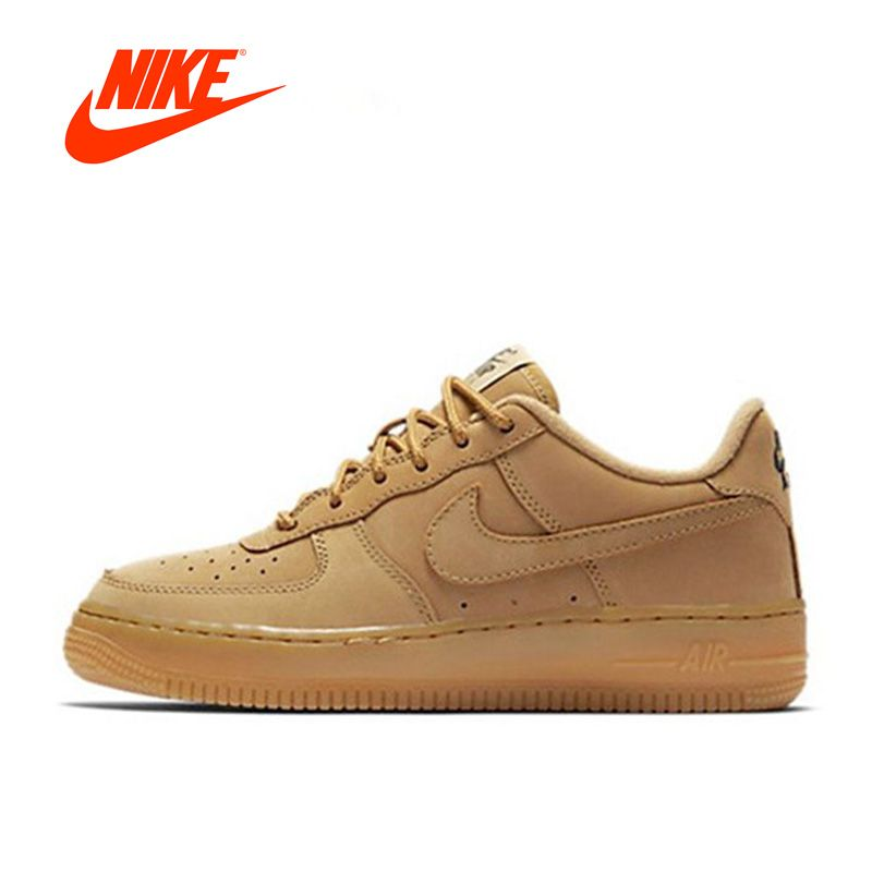 Intersport Original New Arrival Offical Nike Air Force 1 Low AF1 Breathable Men's Skateboarding Shoes Sports Sneakers Classique
