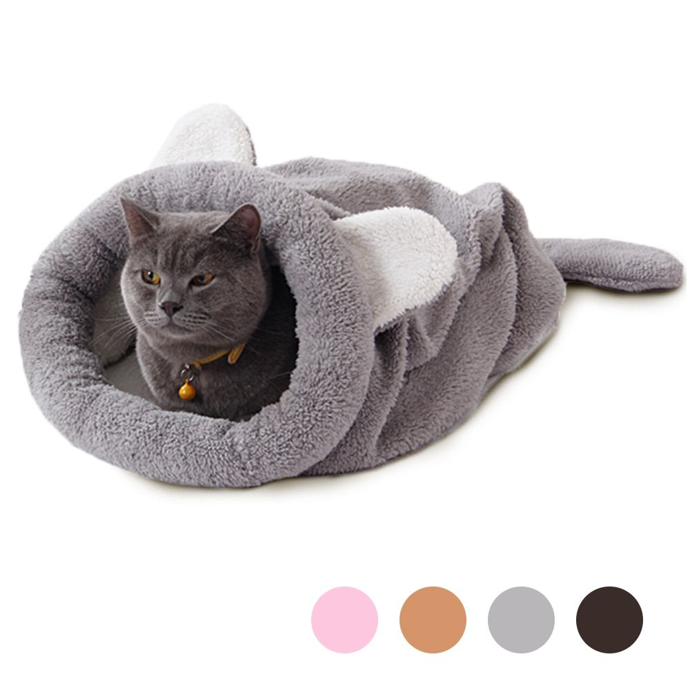 2016 Spring New Products Cat Bed Soft Warm Cat <font><b>House</b></font> Pet Mats Puppy Cushion Rabbit Bed Funny Pet Products 4 Color