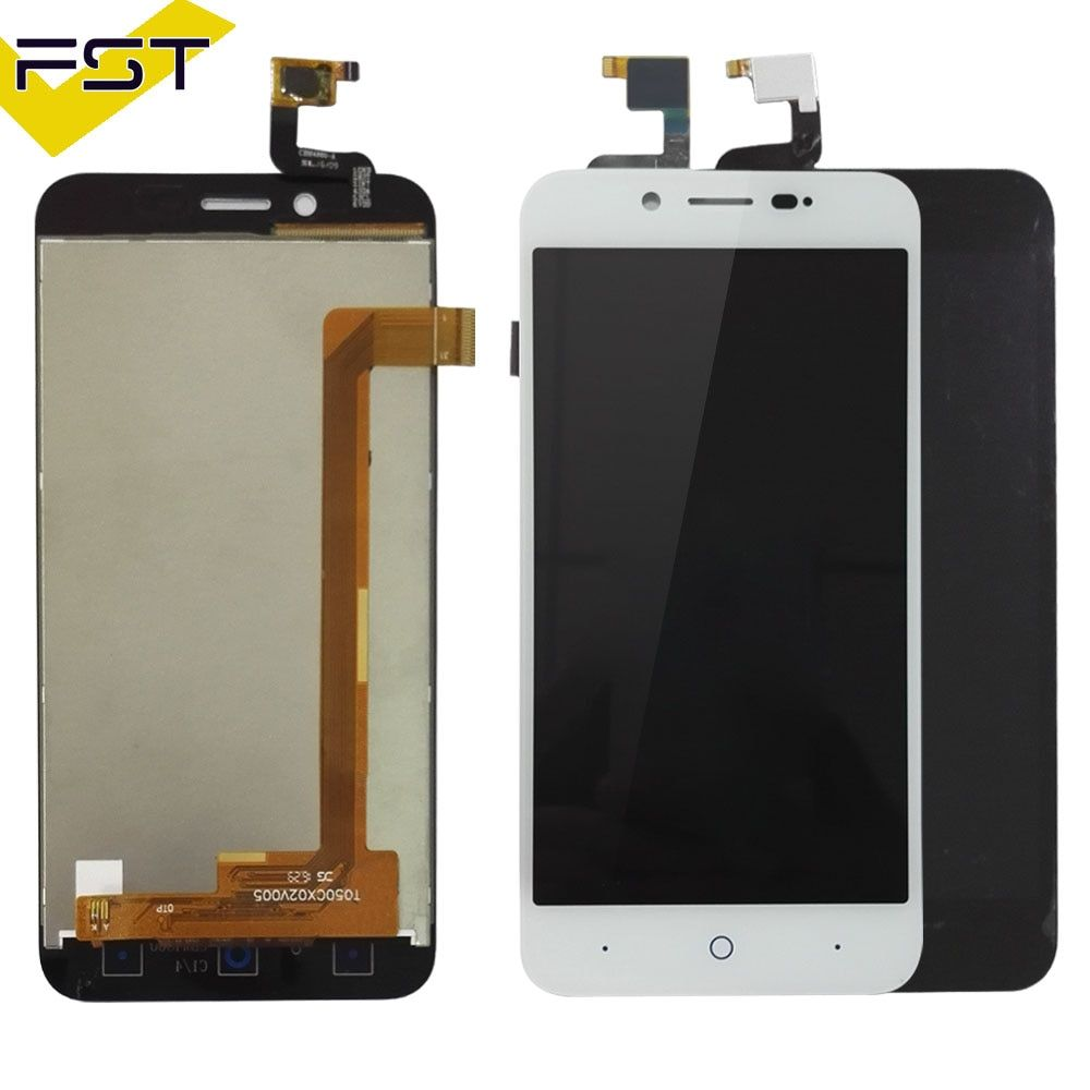 High Quality Black/White 5.0 inch For ZTE Blade L4 A460 Blade D / T610 LCD Display + Touch Screen Digitizer Assembly