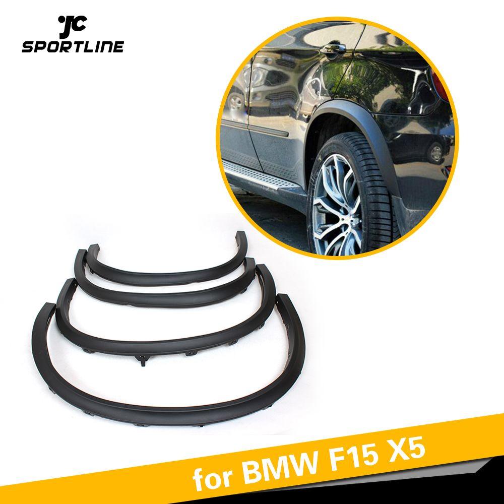 Für BMW F15 X5 SUV 4 Tür 2014 2015 2016 PP Auto Seite Rad Arch Fender Flares Schmutzfänger Schneidet