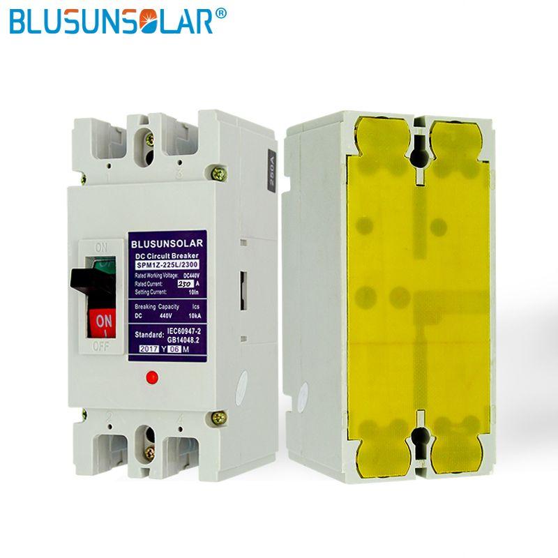 1 teile/los 2 p 200A DC440V MCB Solar energie photovoltaik PV Geformt Fall DC Breaker TF0182