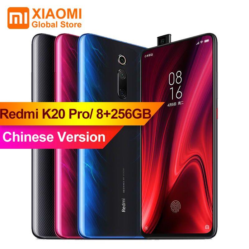 Xiaomi Redmi K20 Pro 8 GB 256 GB Volle Bildschirm 48 Millionen Super weitwinkel Handy Pop- up Vorne Kamera Smartphone