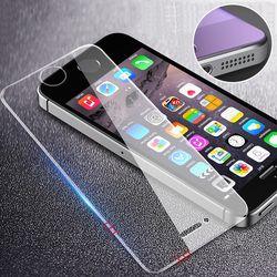 RZP Trempé Verre Sur La Pour Apple iPhone 5S 5 SE 5C Protecteur d'écran 9 H Anti Bleu Léger Film Protecteur En Verre Pour iPhone 5 Se